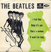 Beatle I Feel Fine EP Norway