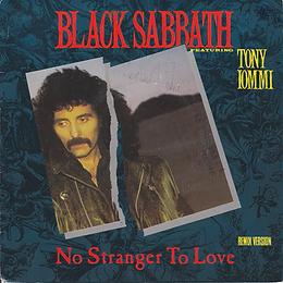 Black Sabbath - No Stranger To Love / Angry Heart - France - Vertigo 884 532-7- 1986
