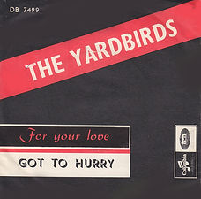 Yardbirds For Your Love Norway