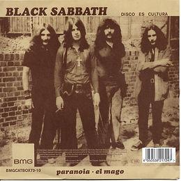 "Black Sabbath - Evil Woman / Wicked World - UK - Vertigo V2 - 2012(Inclued in the LP Box ""The LP Collection 1970-1978) - Back"
