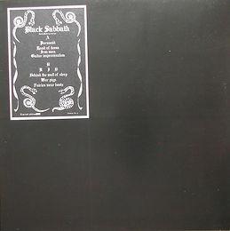 Black Sabbath - Live in Paris 20/12/70 - LP - Bootleg