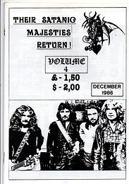 Black Sabath - Fanzine - Their Satanic Majesties Return - No.4