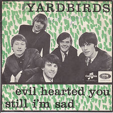 Yardbirds Evil Hearted You Denmark