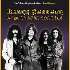 """Black Sabbath - Sabotage in Concert 2 x 10"""" LP"""