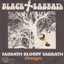 Black Sabbath - Sabbath Bloody Sabbath / Changes - Italy - Vertigo 6165 100 - 1973 - Front