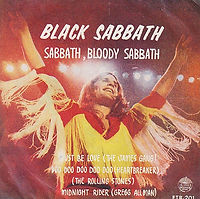 "Black Sabbath 7"" ingles for sale"