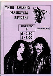 Black Sabath - Fanzine - Their Satanic Majesties Return - No.9