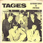 Tages - So Many Girls - In collection - Can be swapped
