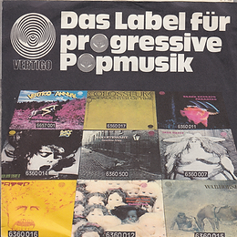 Black Sabbath - Paranoid / The Wizard- Germany - Vertigo 6059 010- 1970 - Back 3