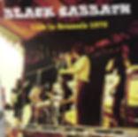 Black Sabbath - Live In Brussel 1979 - LP - Bootleg
