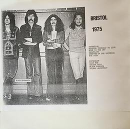 Black sabbath - Bristol 1975 - LP - Bootleg