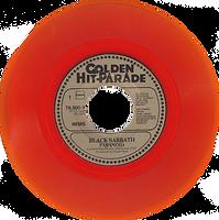 Black Sabbath - Paranoid / Tomorrow's Dream - Netherlands - Nems 79.800-Y - 1979 - Orange vinyl - Side 1