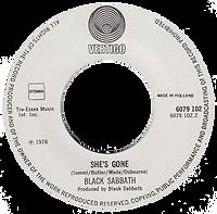 Black Sabbath - Gypsy / She's Gone - Netherlands - Vertigo 6079 102 - 1976 - Side 2