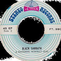 Black Sabbath - Sabbath Bloody Sabbath / A National Acrobat - Thailand - 4 Track FT.990 - 197?- Side 2