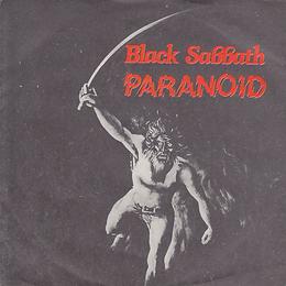 Black Sabbath  - Paranoid / Snowblind - Yugoslavia - Beograd Disc SVKS 3019- 1980 - Front