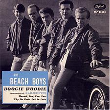 Beach Boys Boogie Woogie EP Sweden