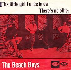 Beach Boys The Little Girl I once Knew Denmark