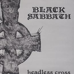 Black Sabbath - Headless Cross / Cloak And Dagger - UK  -  I.R.S. EIRS 107 - 1989