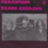 Black Sabbath - Paranoico / Ensalada DeRatas / Funeral Electrico - Mexico - Vertigo 6276 004 - 1971 - Front