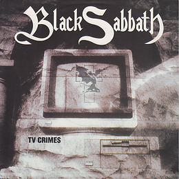 Black Sabbath - TV Crimes / Letters From Earth - Netherlands - I.R.S. 88 0130 7- 1992 - Front