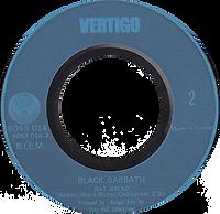 Black Sabbath  - Paranoid / Rat Salad - France - Vertigo 6059 014 -1970 - Side 2 Blue letters