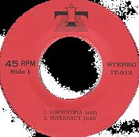 Black Sabbath - Cornucopia / Supernaut / Under The Sun / St. Vitus Dance - Thailand - IT IT-013 - 197?- Side 1