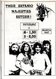 Black Sabath - Fanzine - Their Satanic Majesties Return - No.5