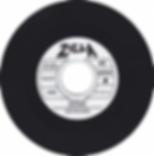 Black Sabbath   The Rebel Zella TF 2163 - One sided single. Recorded in 1969