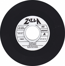 Black Sabbath   The Rebel Zella TF 2163 - One sided single. Recorded in 1969