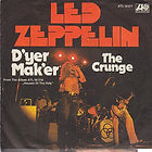 Led Zeppelin - D'yer Maker / The Crunge ATLANTIC ATL 10377 Germany 1973 EX/VG+ €20