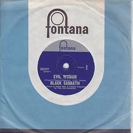 Black Sabbath - Evil Woman / Wicked World - New Zealand - Fontana 5267977 - 1970 - With sleeve