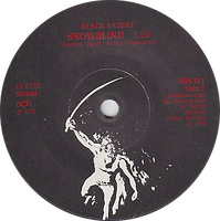 Black Sabbath - Paranoid / Iron Man - Sweden - Planet/NEMS BSS 101 - 1980 - Side 2