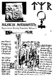 Black Sabbath - Fanzine - Appreciation Society - Volume 4