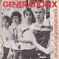 Generatin X - Germany 1977 - VG+/VG+ - €90