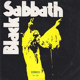 Black Sabbath - Supernaut / St.Vitus Dance / Tomorrow's Dream / Snowblind - Thailand - TKR 720 - 197?- Front