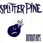 DumDum Boys Splitter pine Poster sleeve