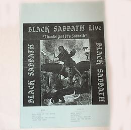 Black Sabbath - Thanks God It's Sabbath - LP - Bootleg