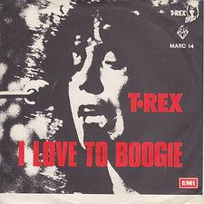 T Rex I Love To Boogie Denmark