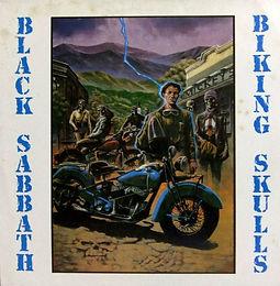 Black Sabbath - Biking Skulls - L - Bootleg