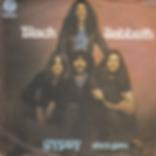 Black Sabbath - Gypsy / She's Gone - Yugoslavia - Radio-Televizija Beograd 6079 102 (S54 008) - 1976 - Front