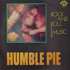 Humble Pie Rock And Roll Music Portugal