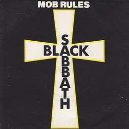 Black Sabbath - Mob Rules / Die Young (Live) - UK - Vertigo SAB 5 - 1981
