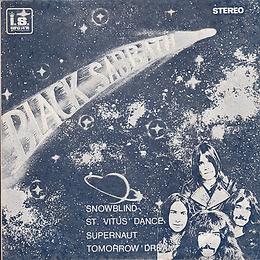 Black Sabbath - Snowblind / St.Vitus Dance / Supernaut / Tomorrow's Dream - Thailand - Cash Box KS-130 - 197?- Front