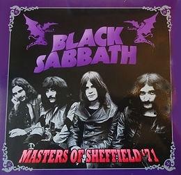Black Sabbath - Masters Of Sheffield '71 - LP - Bootleg
