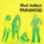 Black Sabbath - Paranoid / Snowblind - Yugoslavia - Beograd Disc SVKS 3019- 1980 - Yellow front