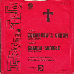 Black Sabbath - Tomorrow's Dream / Laguna Sunrise - Portugal - Vertigo  6059 061 - 1972 - Back