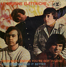 Electric Prunes Everybody Knows You're Not In Love Italy