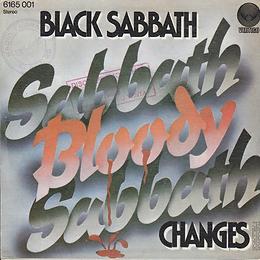 Black Sabbath - Sabbath Bloody Sabbath / Changes- Spain - Vertigo 6165 001- 1973 - Back