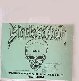 Black Sabbath - Their Satanic Majesties Return - LP - Bootleg