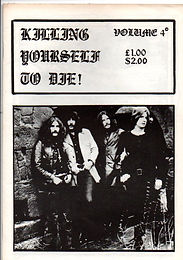 Black Sabbath - Fanzine - Killing Yourself To Die - No.4